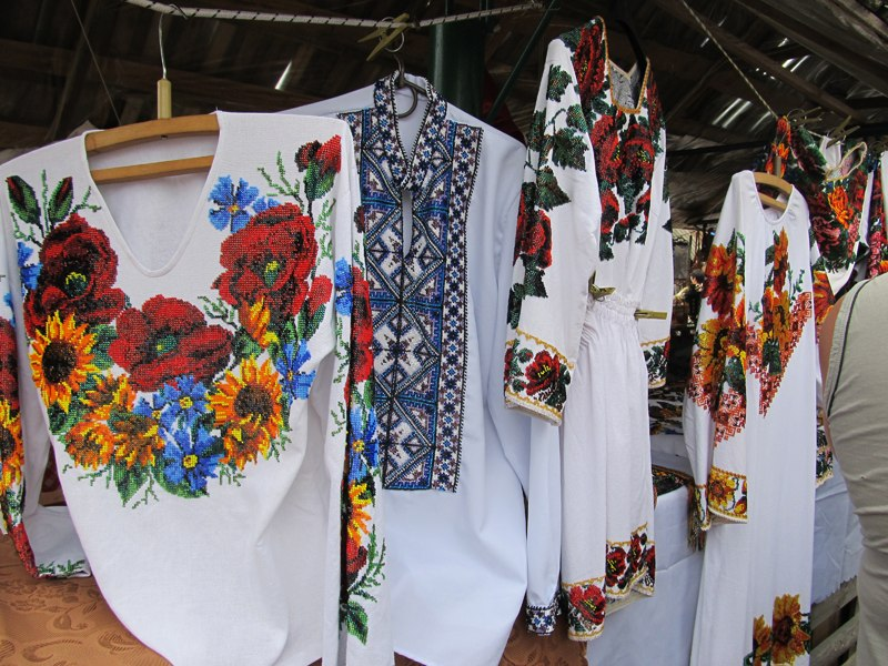 Харьковская вышивка