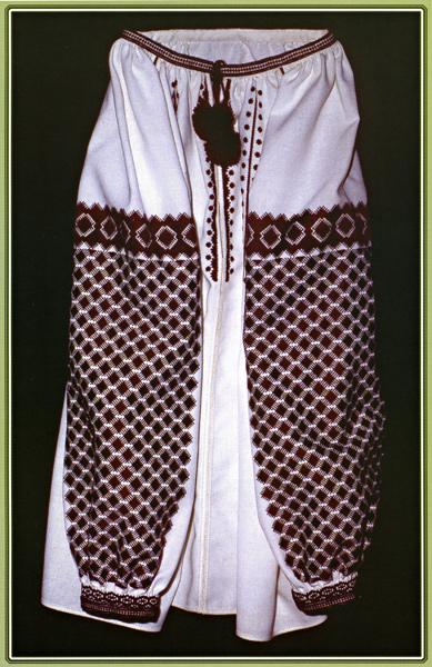 Тернопольская вышивка