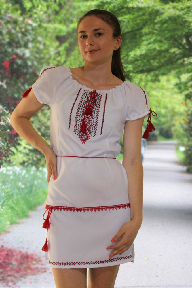 Вышиванка Платье Купить В Москве