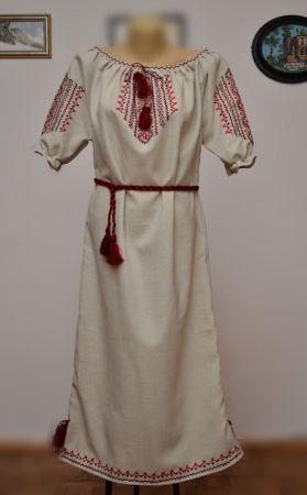 Платье домотканые